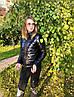 Куртка женская короткая черного цвета норма и батал