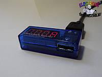 Тестер USB зарядных устройств для портативных гаджетов ток и напряжение, фото 1