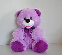 Мягкая игрушка . Медведь 29 х 27 сирень