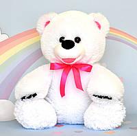 Мягкая игрушка медведь белый 43 х 38 см, фото 1