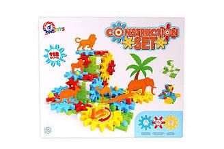 Іграшка «Конструктор ТехноК», 3763 (5шт) в кор. 38.7х31.7х7.5 см