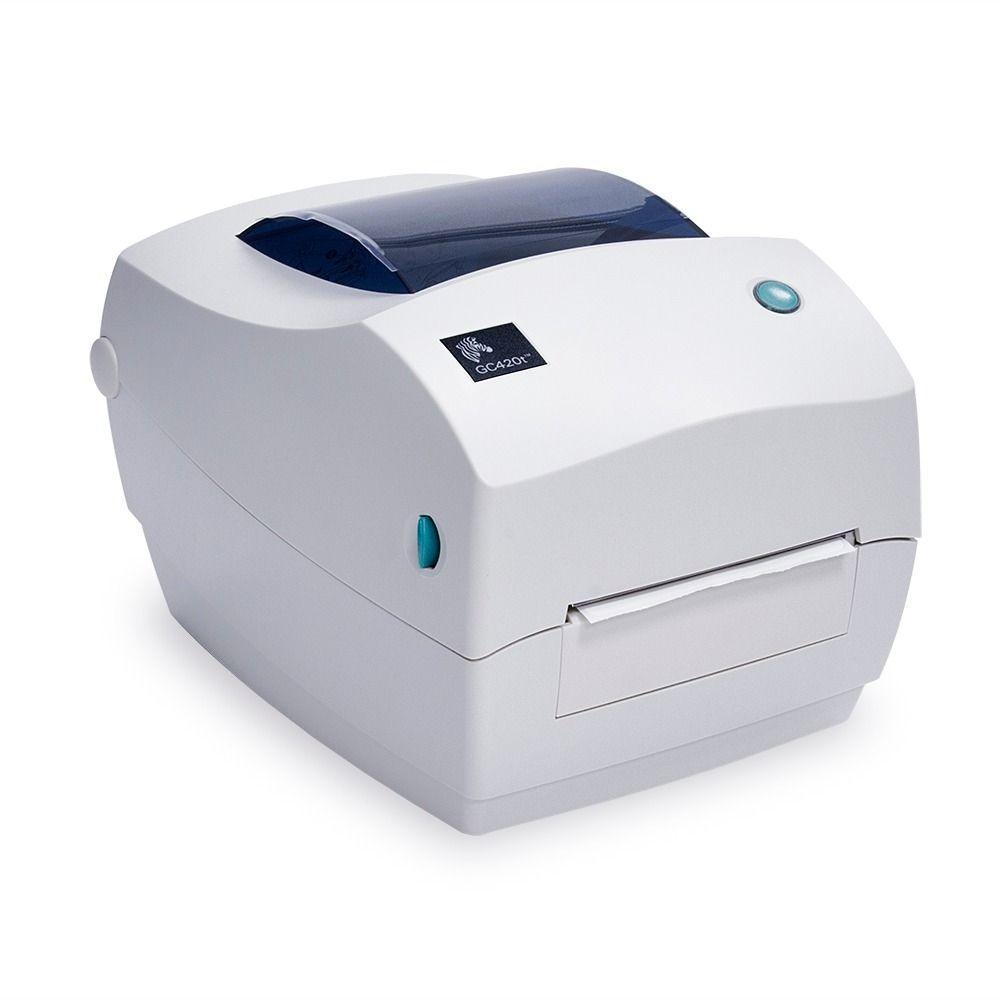 Термотрансферний принтер етикеток Zebra GC420t USB