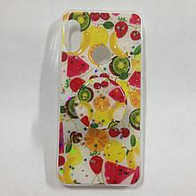 Чохол для Xiaomi Redmi 6 Pro MiA2 Lite Fruits+Popsocket