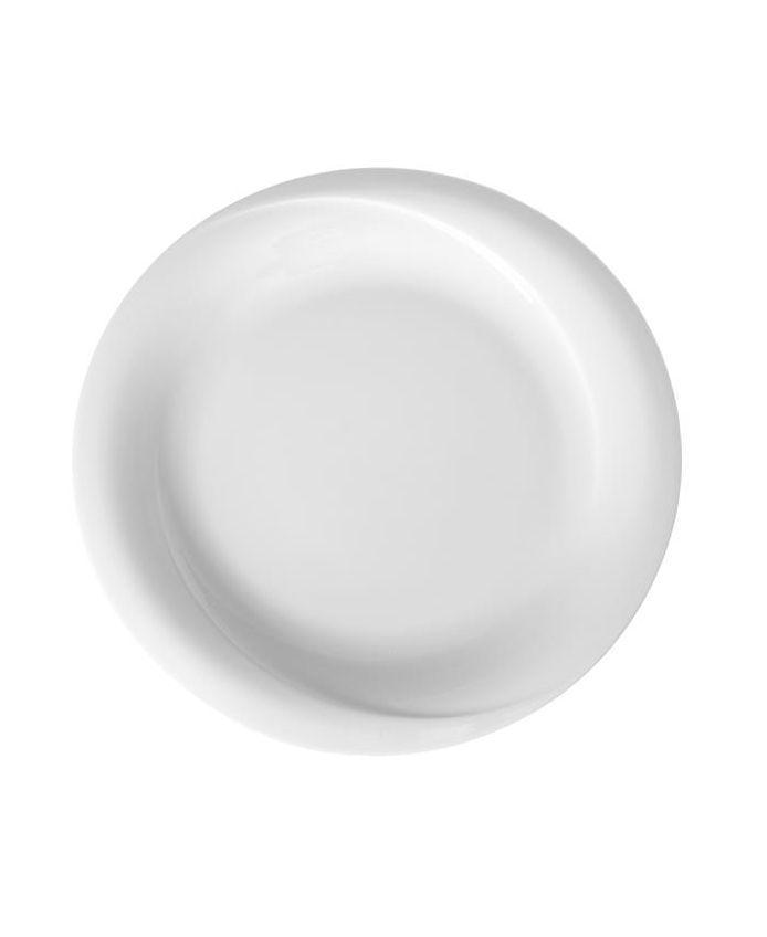 Тарілка дрібна 21 см біла Gourmet, Fine Dine