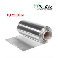 Фольга алюминиевая 0,12*100 м 14 мкм (1 рул)