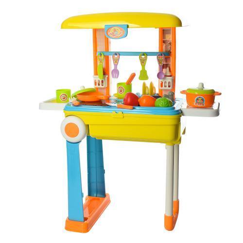 Кухня 008-926 детский игровой набор для девочек от 3 лет кухня-чемодан
