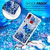 Чехол накладка для Samsung Galaxy A10s A107FD силиконовый Aqua Series, Голубая бабочка, фото 5