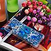 Чехол накладка для Samsung Galaxy A10s A107FD силиконовый Aqua Series, Голубая бабочка, фото 6