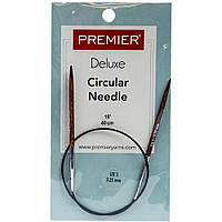 Спицы деревянные Premier Fixed Circular Knitting Needles 40см Size 3 / 3.25mm