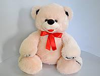 Мягкая игрушка. Медведь плюшевый 52 х 54 бежевый, фото 1