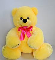 Мягкая игрушка. Медведь плюшевый желтый 52 х 54, фото 1