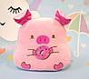 Мягкая игрушка Свинка, розовый, 37 х 37 см