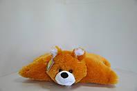 """Мягкая игрушка-подушка""""трансформер"""".  Медведь. 46 х 60 рудой, фото 1"""