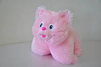 Игрушка-подушка.Котик  37х50 (розовый), фото 1