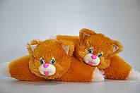 Игрушка-подушка. Котик  37х50 рудая, фото 1
