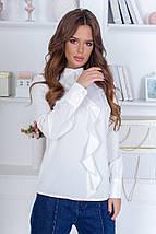 Женская блуза с длинными рукавами /разные цвета, 40-48, LL-018/, фото 2