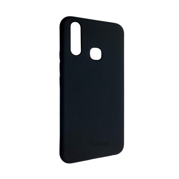 Накладка для VIVO Y15/VIVO Y17 силікон TPU Leather Design Case Black