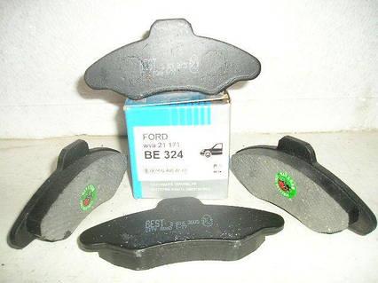 """Колодки передние тормозные БЕСТ"""", 324 FORD Escort, Scorpio, Sierra ОРИГИНАЛ"""