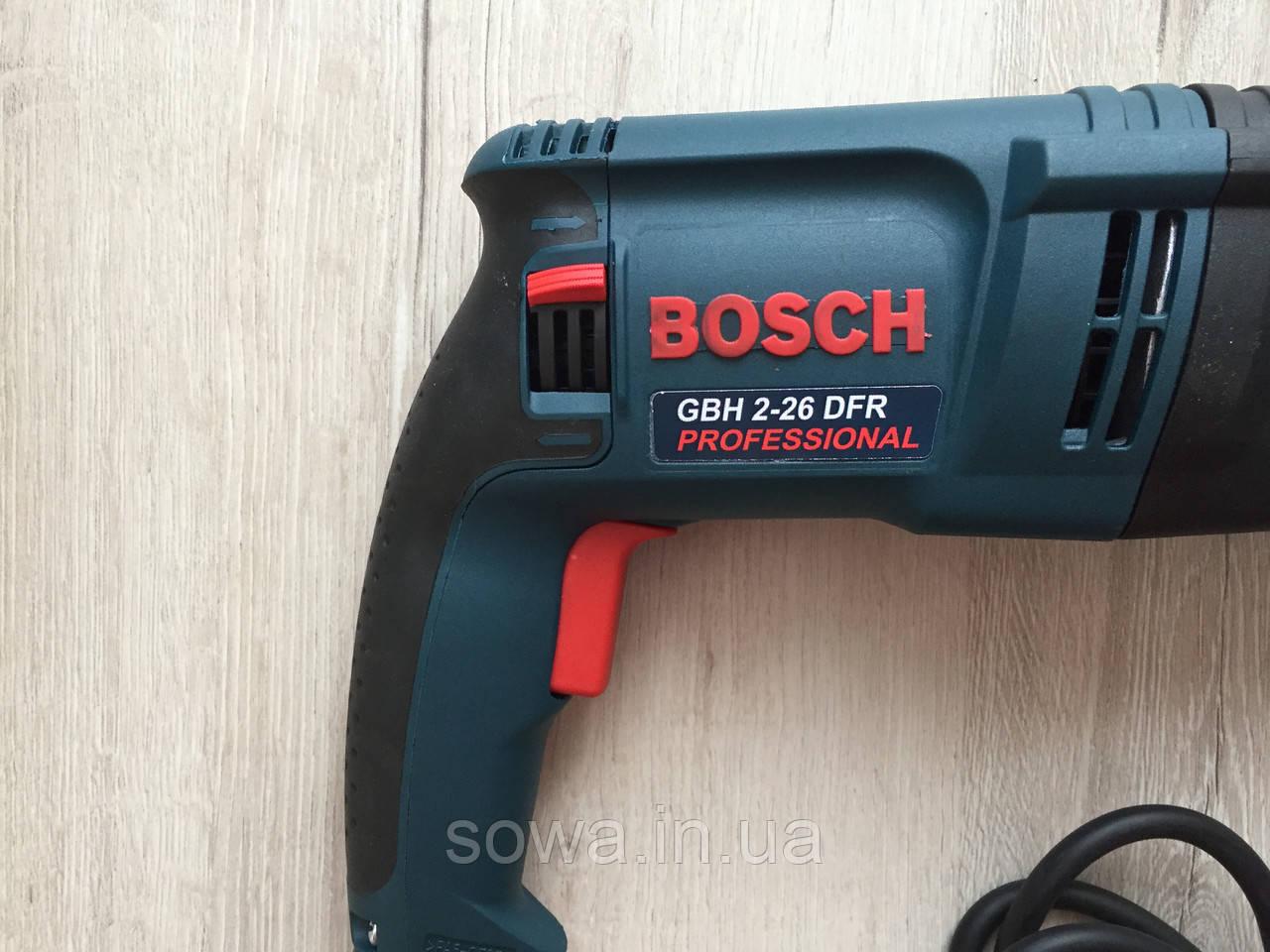 Перфоратор Bosch_ Бош GBH 2-26 DRE ( 800 Вт, 2.8 Дж, SDS-Plus ) + ПОДАРОК - фото 5