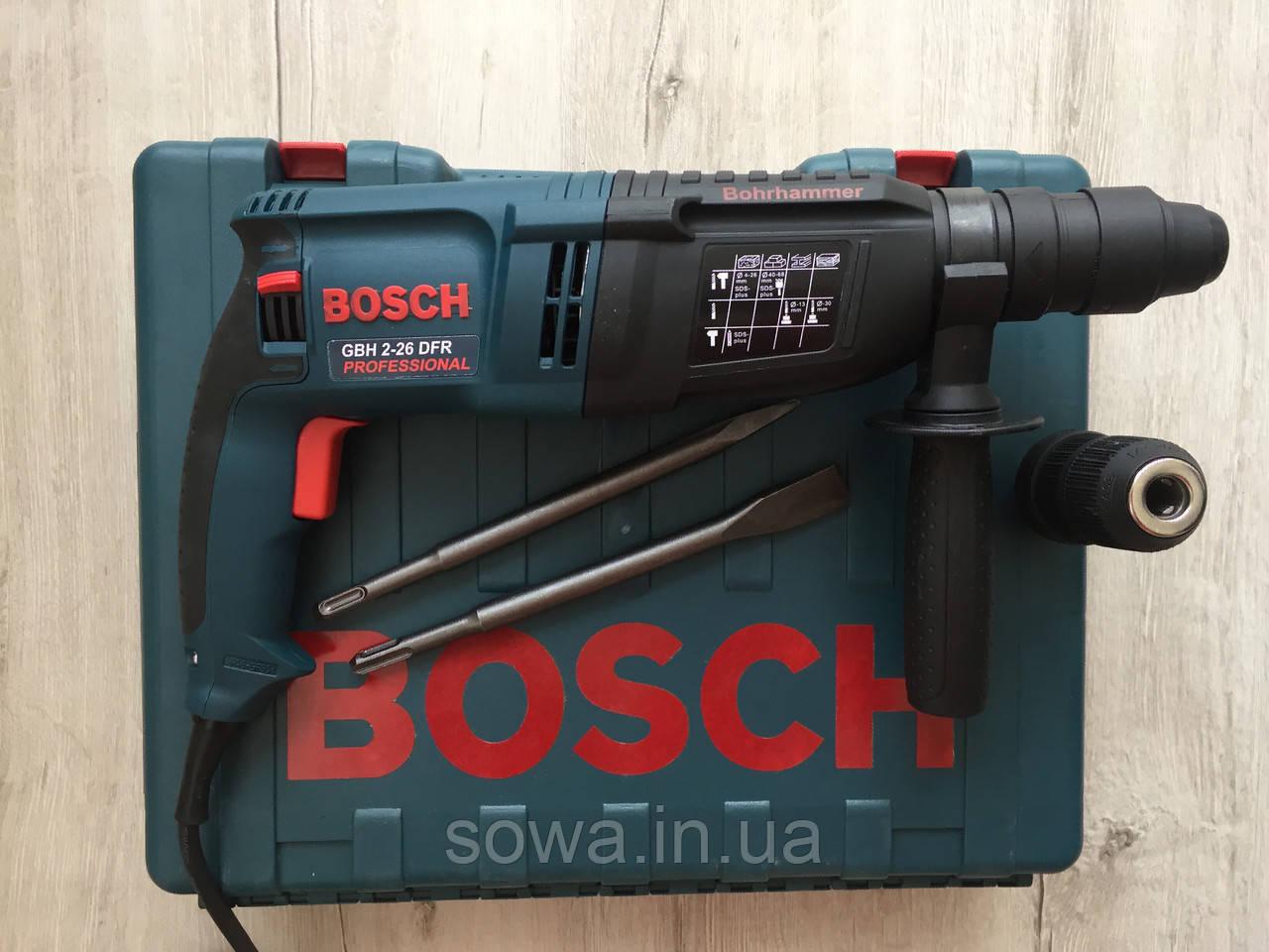 Перфоратор Bosch_ Бош GBH 2-26 DRE ( 800 Вт, 2.8 Дж, SDS-Plus ) + ПОДАРОК - фото 9