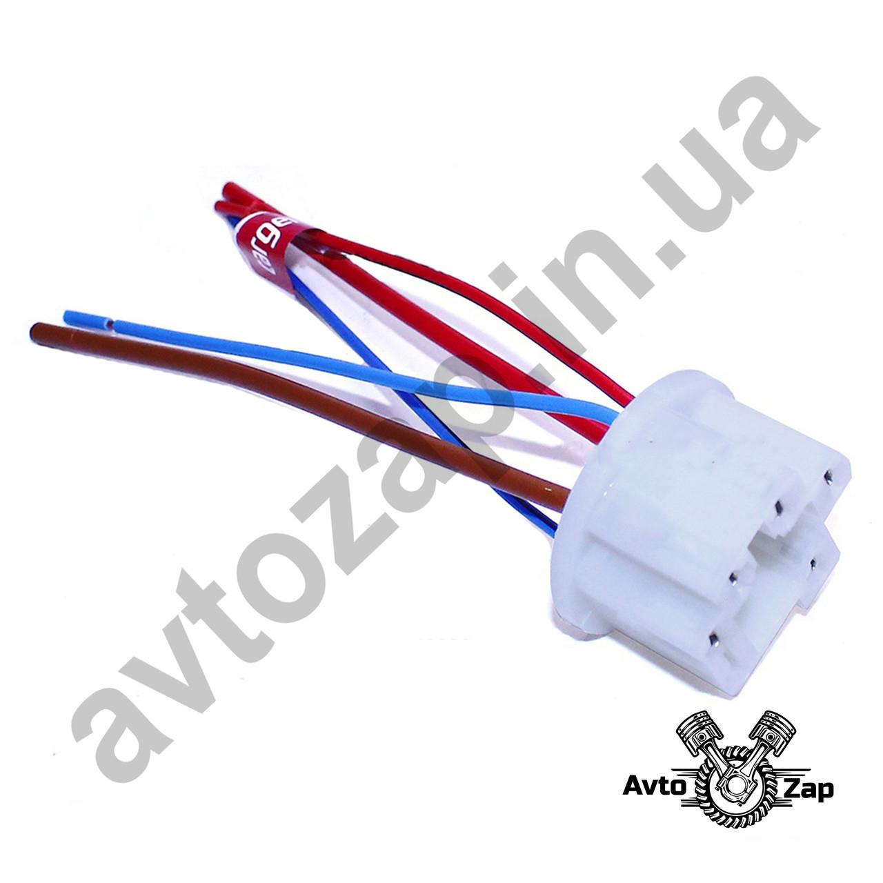 Разъём выключателя (замка) зажигания ВАЗ 2104-07 с проводами .    27150