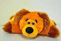 """Мягкая игрушка-подушка""""трансформер"""". Собака рыжий"""