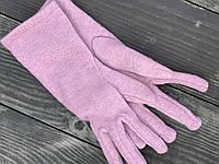 Рукавички напіввовняні GWx10 рожеві, фото 1