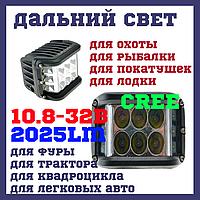 WL100 Светодиодные фары раб. света WL-111 36W CREE12 SP Дальний свет, фото 1