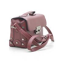 Оригинальная женская сумка-сундучок  Little Pigeon красный.