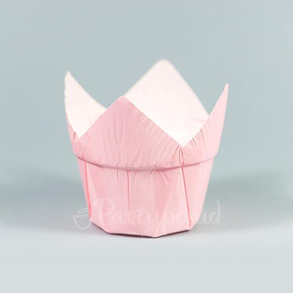 Капсула тюльпан нежно-розовая