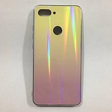 Чехол Xiaomi Mi8 Lite Holografic Yellow