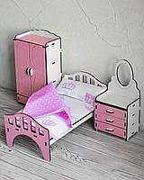 Набор мебели FANA Спальня для кукольного домика Барби (3111)