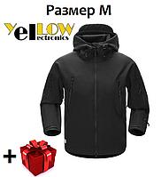Тактическая куртка ветровка с флисом JK-3 Soft Shell (размер М)