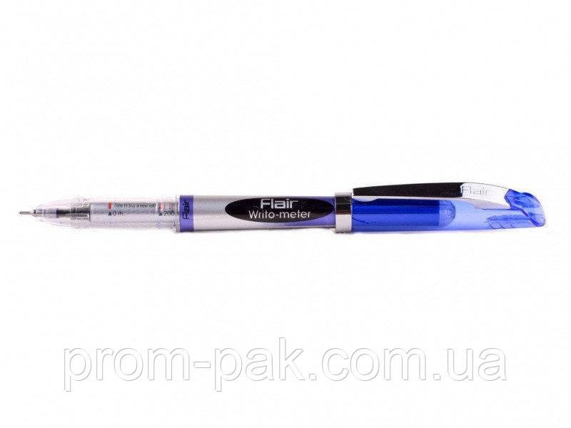 "Ручка шариковая ""Writometer ball NEW"", синя (10км) FLAIR"