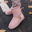 Женские Угги UGG Biley bow II boot Pink Cryctal, фото 2