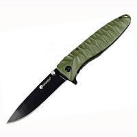 Нож Ganzo G620, зеленый клинок (G620g-1)