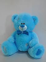 Мягкая игрушка  небесно-голубой мишка 26 х 28 см, фото 1
