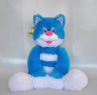 Мягкая игрушка. Кот  84 х 40  небесно-синий, фото 1