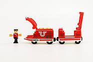 BRIO World АКСЕССУАРЫ ТРАНСПОРТ Пассажирский поезд с USB подзарядкой, вагоном и машинистом 33746, фото 7