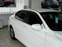 Комплект 4 шт. ветровиков дефлекторов на боковые окна HONDA ACCORD 9  2012-