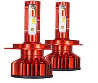Светодиодные LED лампы для фар Head Light X3 ZES H1 головной свет 80Вт 12000LM