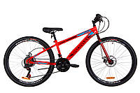 "Велосипед ST 26"" Discovery ATTACK DD рама-13"" оранжево-бирюзовый 2020"