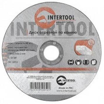 Круг зачистной по камню 180*6*22мм INTERTOOL CT-5118_
