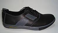 Подростковые туфли кожаные