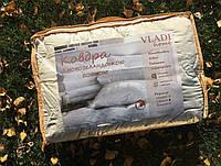 Одеяло двуспальное из натуральной шерсти, размер 170/210 см