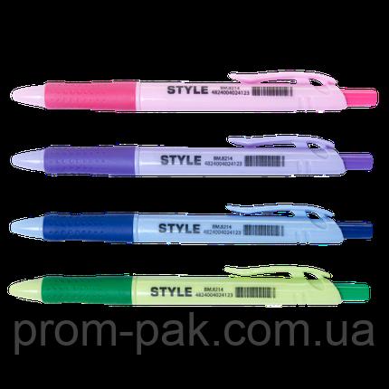Ручка шариковая автоматическая STYLE, 0.7мм, синяя, фото 2