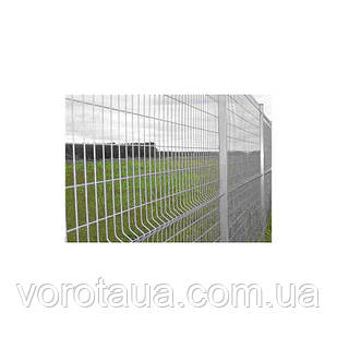 Заборные секции оцинковка 1,26х2,5м СТАНДАРТ проволока 4+4мм