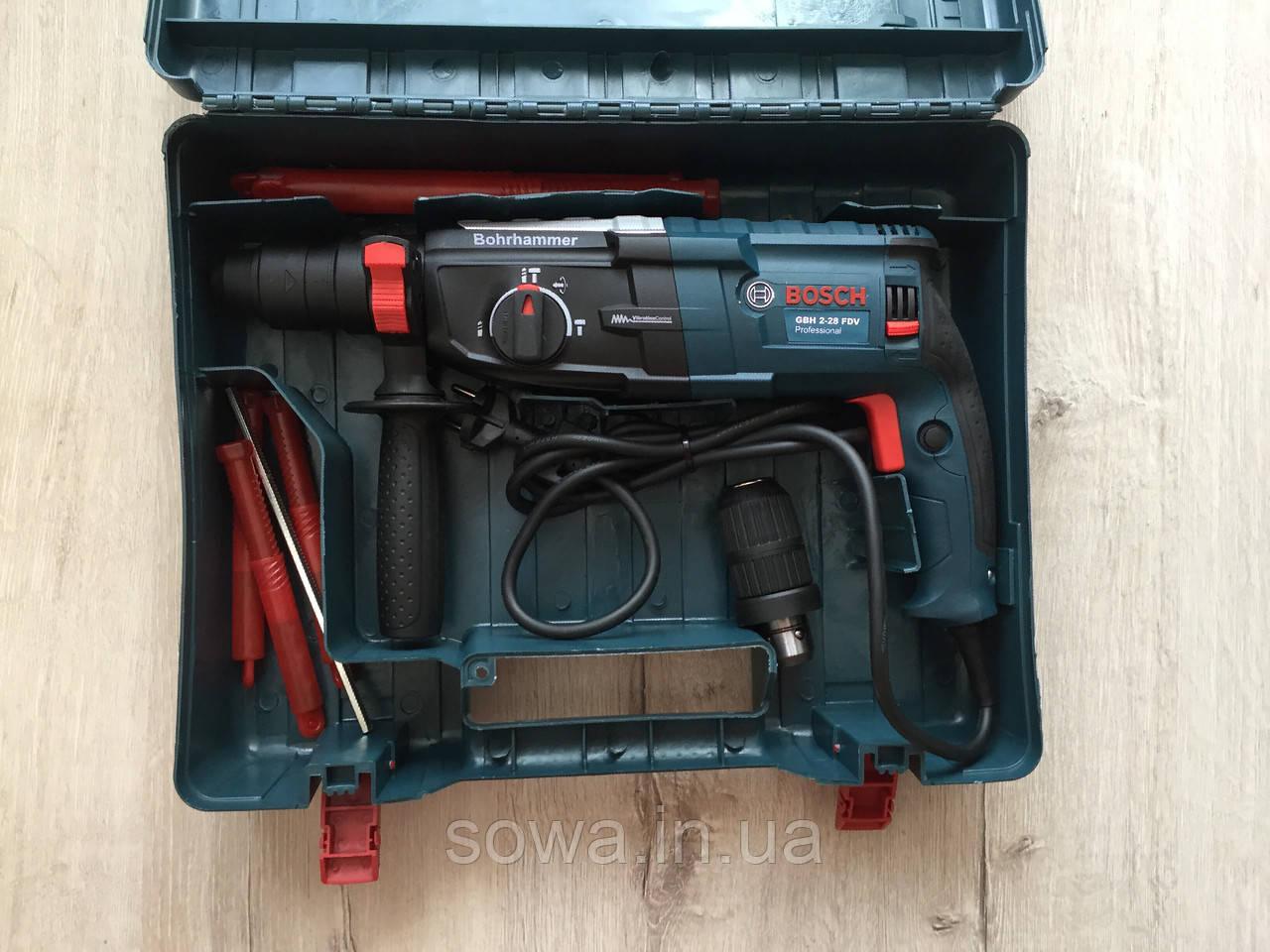 ✔️ Перфоратор  Bosch_Бош 2-28 DFV  |  850 Вт, SDS-Plus
