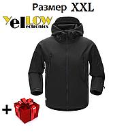Тактическая куртка ветровка с флисом JK-3 Soft Shell ( размер XXL)