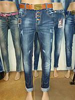 Джинсы женские полубатал, фото 1